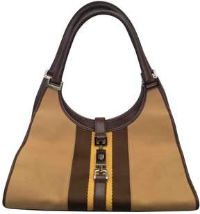 Gucci Jackie cloth handbag - BEIGE - STYLE