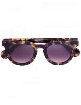 Moncler round tortoiseshell sunglasses