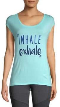 Gaiam Dani Inhale Exhale Tee