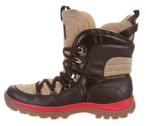 D&G Leather Hiking Boots