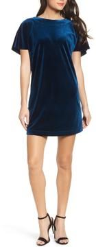 Felicity & Coco Women's Velvet Ruffle Minidress