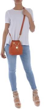 Michael Kors Hadley Messenger Mini Bucket Bag - ARANCIO - STYLE