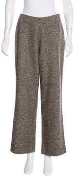 Akris Tweed Wide-Leg Pants