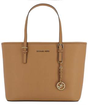 Michael Kors Brown Leather Shoulder Bag - BROWN - STYLE