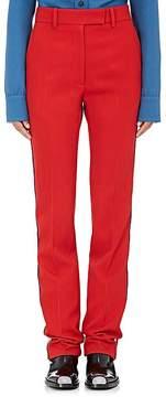 Calvin Klein Women's Wool Twill Tuxedo Trousers
