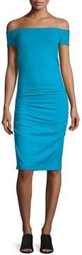 Susana Monaco Women's Off-The-Shoulder Dress