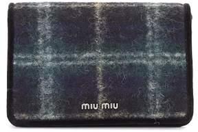 Miu Miu Plaid shoulder bag
