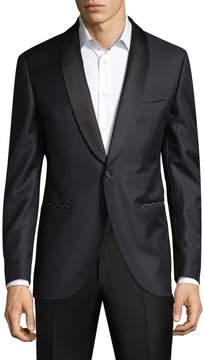 Lubiam Men's Wool Formal Dinner Jacket