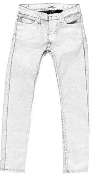 Each X Other Wax Coated Skinny-Leg Jeans