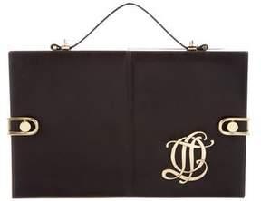 Olympia Le-Tan Leather Logo Bag