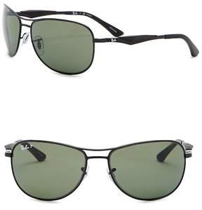 Ray-Ban Active Lifestyle 59mm Pilot Sunglasses