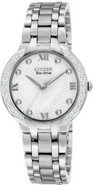 Citizen Women's Eco-Drive Unstoppable Bella Diamond Watch EM0120-58A