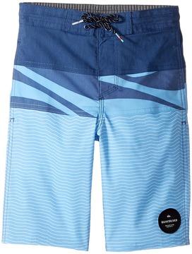 Quiksilver Heatwave Blocked Beach Shorts Boy's Swimwear