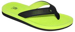 Champion Boys' Felipe Flip Flop Thong Sandals Black/Green