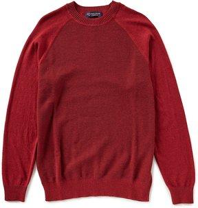 Roundtree & Yorke Crew Textured Sweater