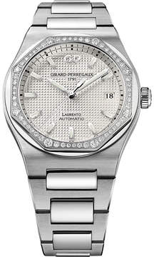 Girard Perregaux Girard-Perregaux 81005-D11-A131-11A Laureato stainless steel and watch