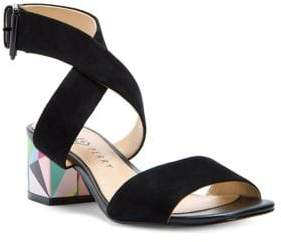 Katy Perry Margot Ankle Strap Suede Sandals