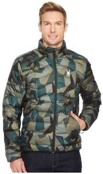 Spyder Geared Full Zip Synthetic Down Jacket Men's Coat