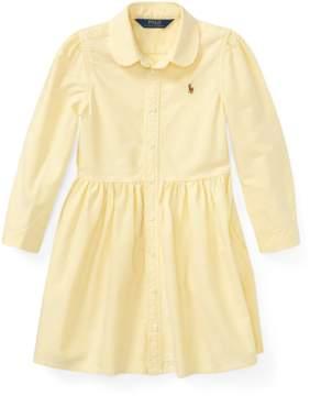Ralph Lauren | Cotton Oxford Shirtdress | 6 years | Wicket yellow