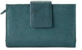 Apt. 9 Sandalwood Leather Rfid-Blocking Tab Indexer Wallet