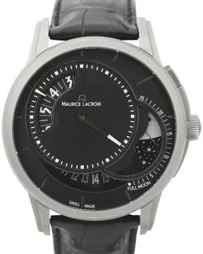 Maurice Lacroix Pontos Decentrique Moon Phase Limited Edition of 500 PT6218 Titanium 45mm Watch