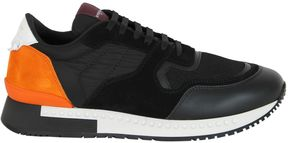 Givenchy Black Orange Runner Active Sneakers