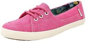 Vans Women's Palisades Vulc Washed Canvas Fuchsia Purple Ankle-High Fashion Sneaker - 5M