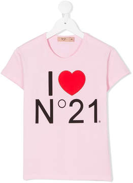 No.21 Kids printed T-shirt