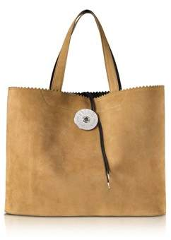 MM6 MAISON MARGIELA Women's Brown Suede Tote.