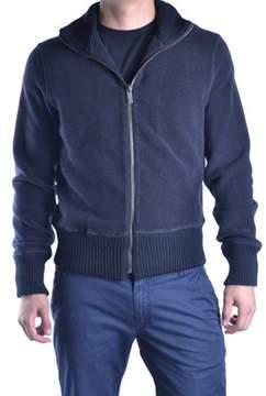 Dirk Bikkembergs Men's Black Wool Sweatshirt.