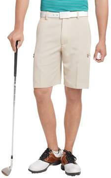 Izod Men's XFG Solid Microfiber Performance Cargo Golf Shorts