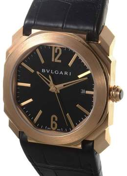 Bvlgari Octo Solotempo Black Dial Automatic Men's Watch