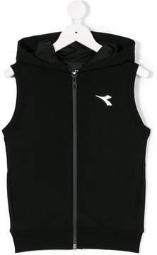 Diadora Junior sleeveless hoodie