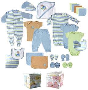 Luvable Friends Blue 24-Piece Gift Cube - Newborn