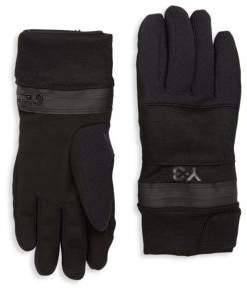 Y-3 Zip Gloves