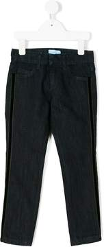 Lanvin Enfant jeans with side stripe