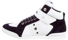 Jimmy Choo Lewis Leather Sneakers w/ Tags