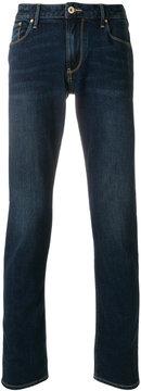 Armani Jeans washed five pocket jeans