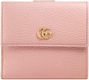 Gucci Leather french flap wallet - LIGHT PINK LEATHER - STYLE