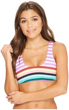 Bikini Lab THE Stripeout Tank Bralette Bikini Top Women's Swimwear