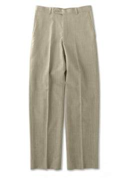 Lord & Taylor Flat-Front Wool Blend Dress Pants