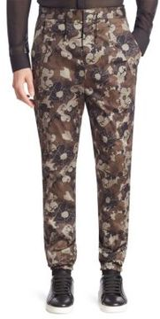 Versace Collection Pantaloni Tess Floral Pants