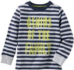 Osh Kosh Toddler Boy Genius Of The Family Striped Tee