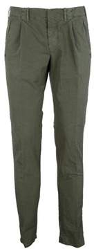 Incotex Men's 1aa70190273717 Green Cotton Pants.