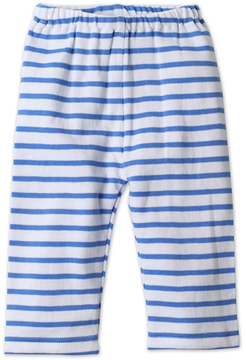 Zutano Periwinkle Breton Stripe Pants - Infant