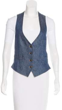 Boy By Band Of Outsiders Denim Front Vest
