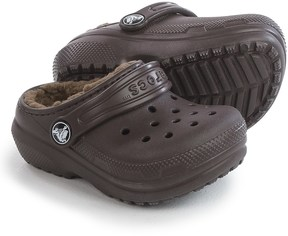 Crocs Classic Lined Clogs (For Infants and Toddlers)