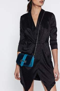 Nasty Gal WANT Hands Off Velvet Belt Bag