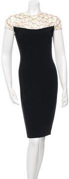 Jenny Packham Embellished Sheath Dress