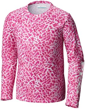 Columbia Super Terminal Tackle Omni-Wick® T-Shirt - UPF 50, Long Sleeve (For Little and Big Kids)